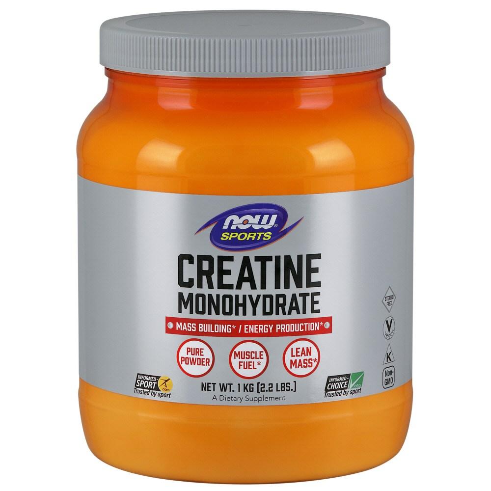나우푸드 크레아틴 모노하이드레이트 퓨어 파우더, 1kg, 1개