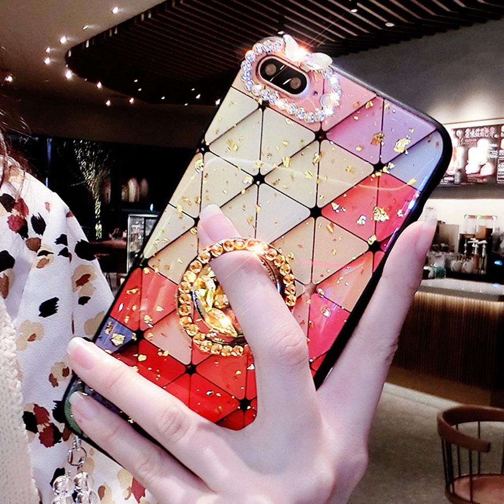 우꾸모 갤럭시 노트8 갤럭시노트8 노트8케이스 폰케이스 N950 큐빅 링 케이스 휴대폰