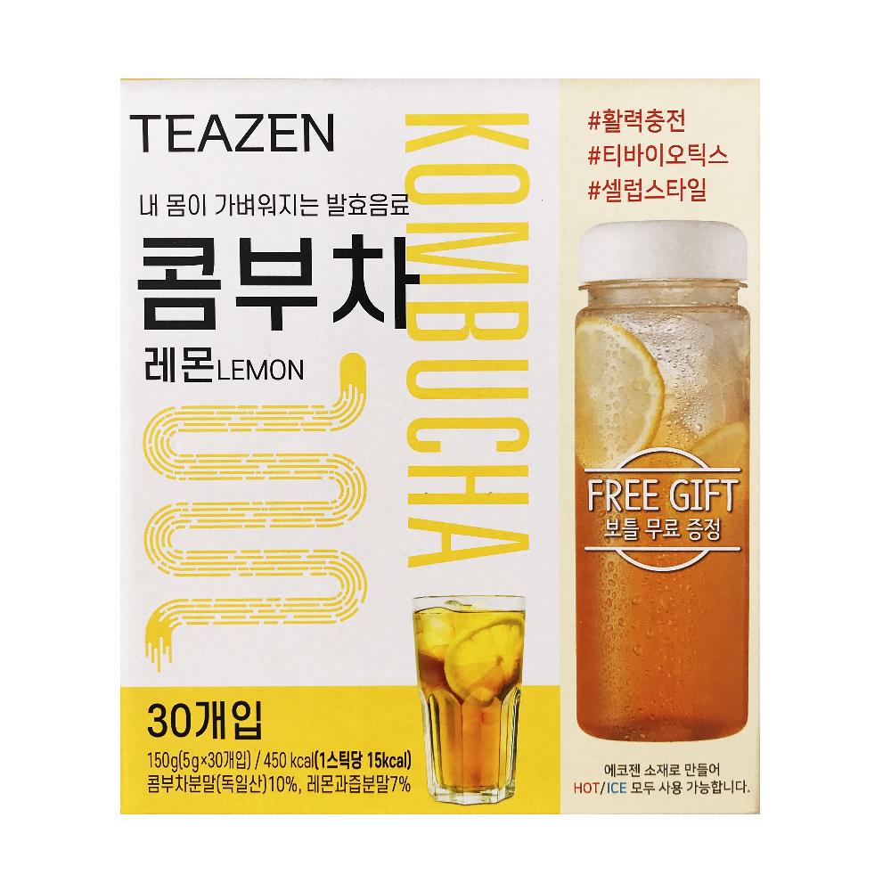 티젠 콤부차 레몬, 티젠 콤부차 스틱(5g), 30개입