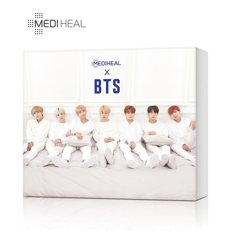 메디힐 X BTS 마스크팩 보습케어 스페셜 세트 +포토카드집14개, 1box, 10매입
