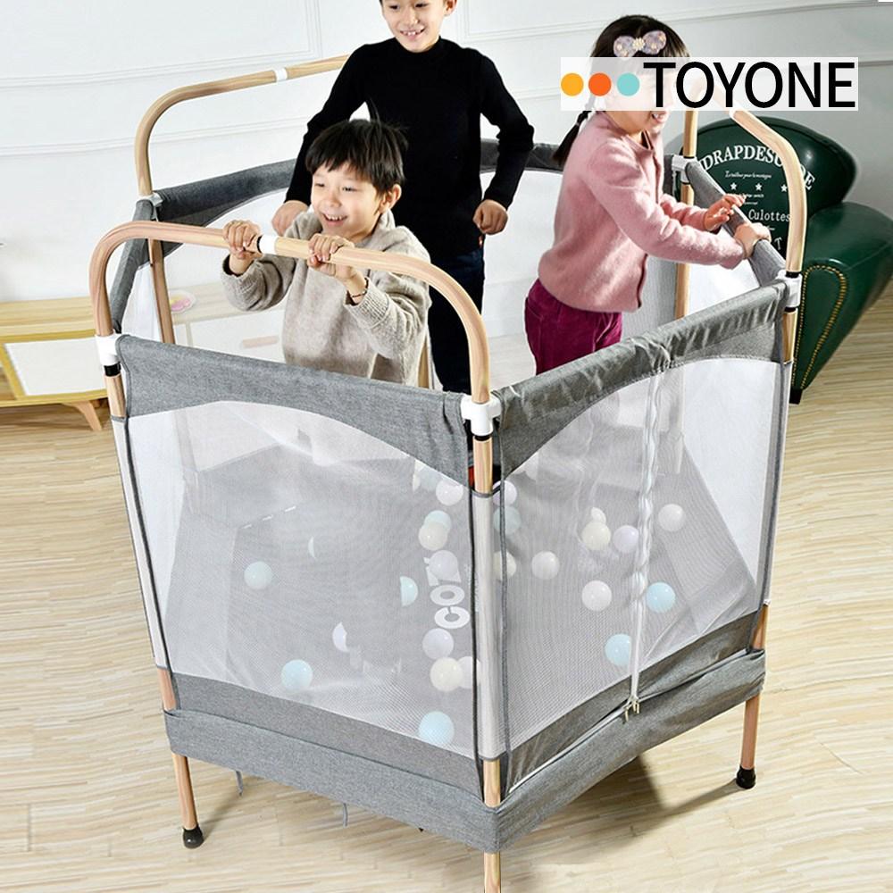 토이원 [토이원] COZY 코지 인디오 150 트램폴린 안전망 볼풀장 어린이 유아