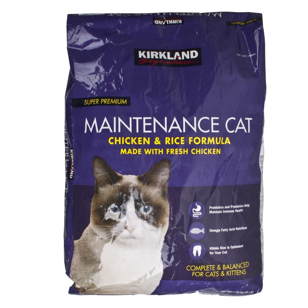 커클랜드 시그니춰 프리미엄 고양이 사료 11.34kg, 1개