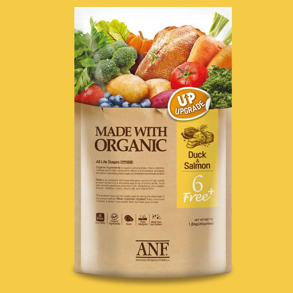 ANF ANF유기농 6Free플러스 독 오리+연어 5.6kg, 1개