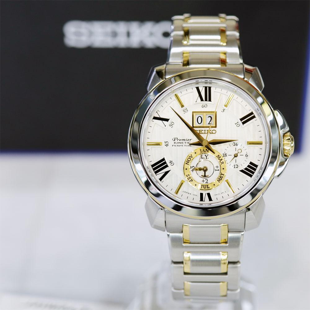 세이코 프리미어 SNP152J1 키네틱 퍼페츄얼 시계 백화점 AS 가능