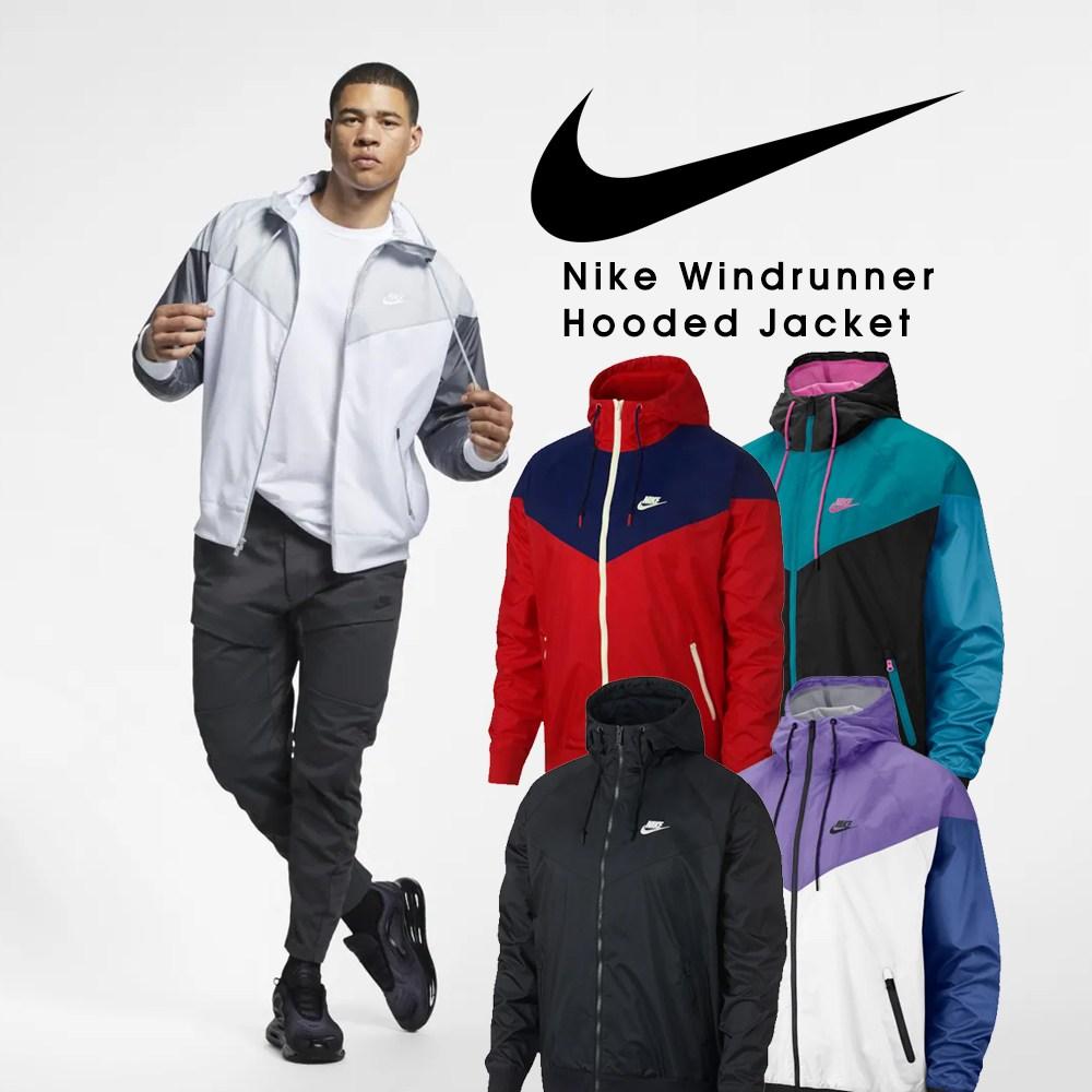 나이키 바람막이 Nike Windrunner Hooded Jacket 윈드러너 후디 자켓