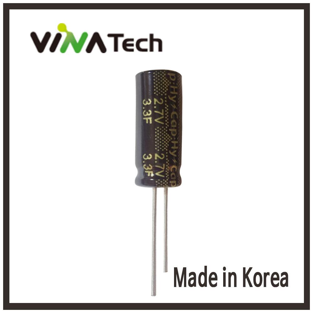 비나텍 2.7V-3.3F 슈퍼콘덴서 HY-CAP VINA TEC, 단일상품