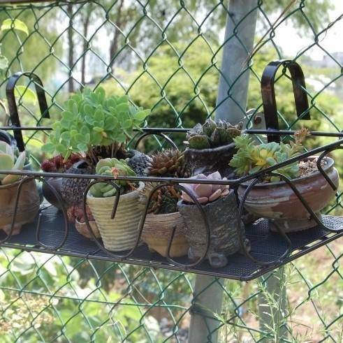 맘스플라워 베란다선반(대) 화분진열대 다육걸이대 화분걸이대 화분받침대