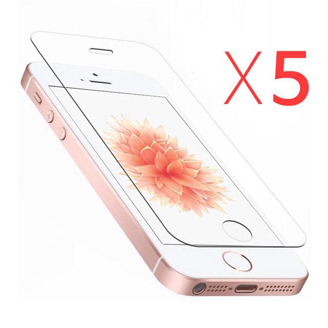 스톤스틸 5장 아이폰se 아이폰5s 아이폰5 프리미엄 강화유리필름, 1세트
