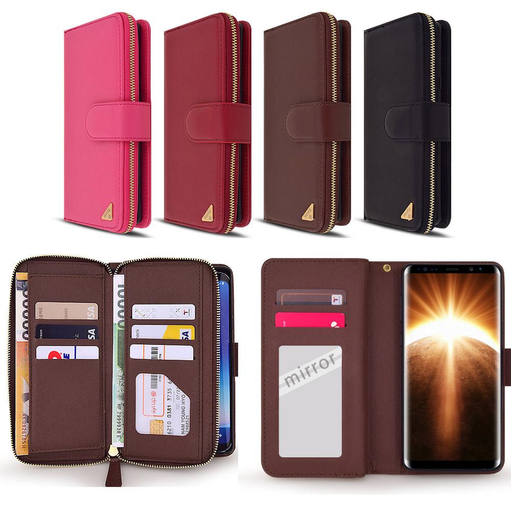 LG Q61 Q630 - 고든 미러 지갑케이스
