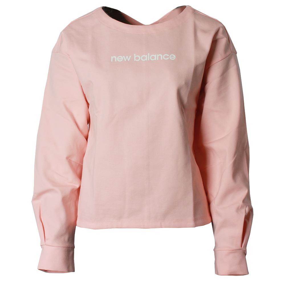 뉴발란스 W 세미크롭 맨투맨 NBNC81W032-26 핑크