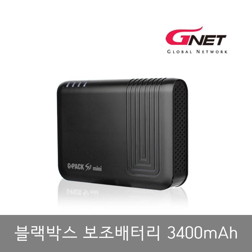 지넷시스템 블랙박스 보조배터리 GPACK S2 MINI 3400mAh