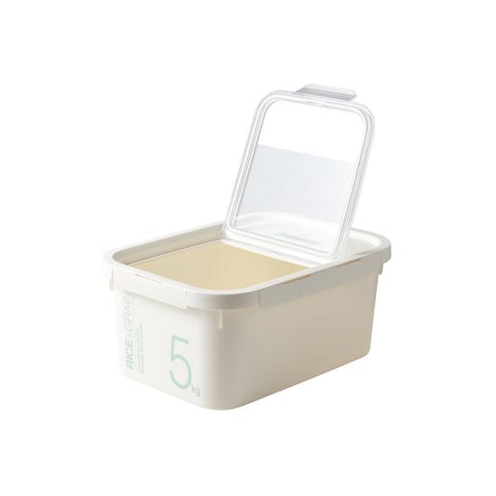 락앤락 쌀통 잡곡통 5kg / 10kg, HPL560 화이트