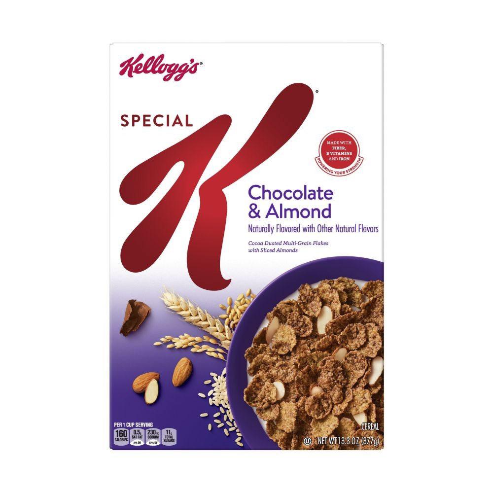 켈로그 스페셜 K 초콜릿 & 아몬드 시리얼, 1개, 377g