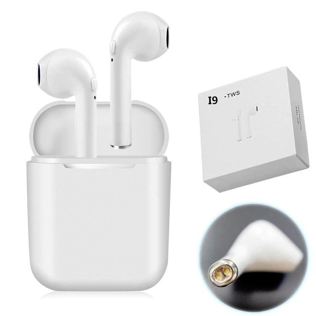 쿠팡Y 차이팟 대륙의 실수 블루투스 이어폰 I9 플러스, 화이트