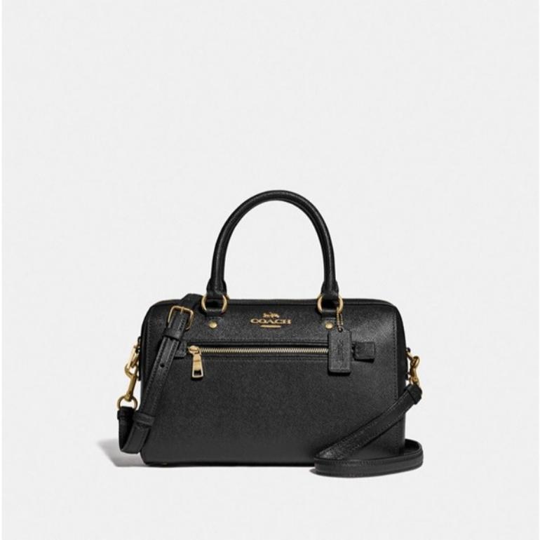 코치 [HAPPYNY] COACH_ F79946 ROWAN SATCHEAL BAG (BLACK)