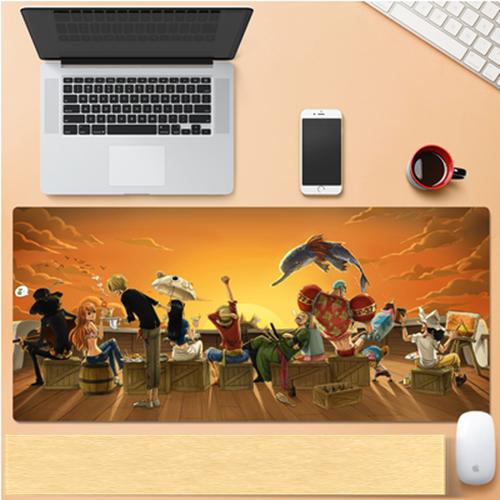 게이밍 장패드 캐릭터 마우스 종결 200종 원피스 롤 나루토 800x300X3(mm), 1개, 66