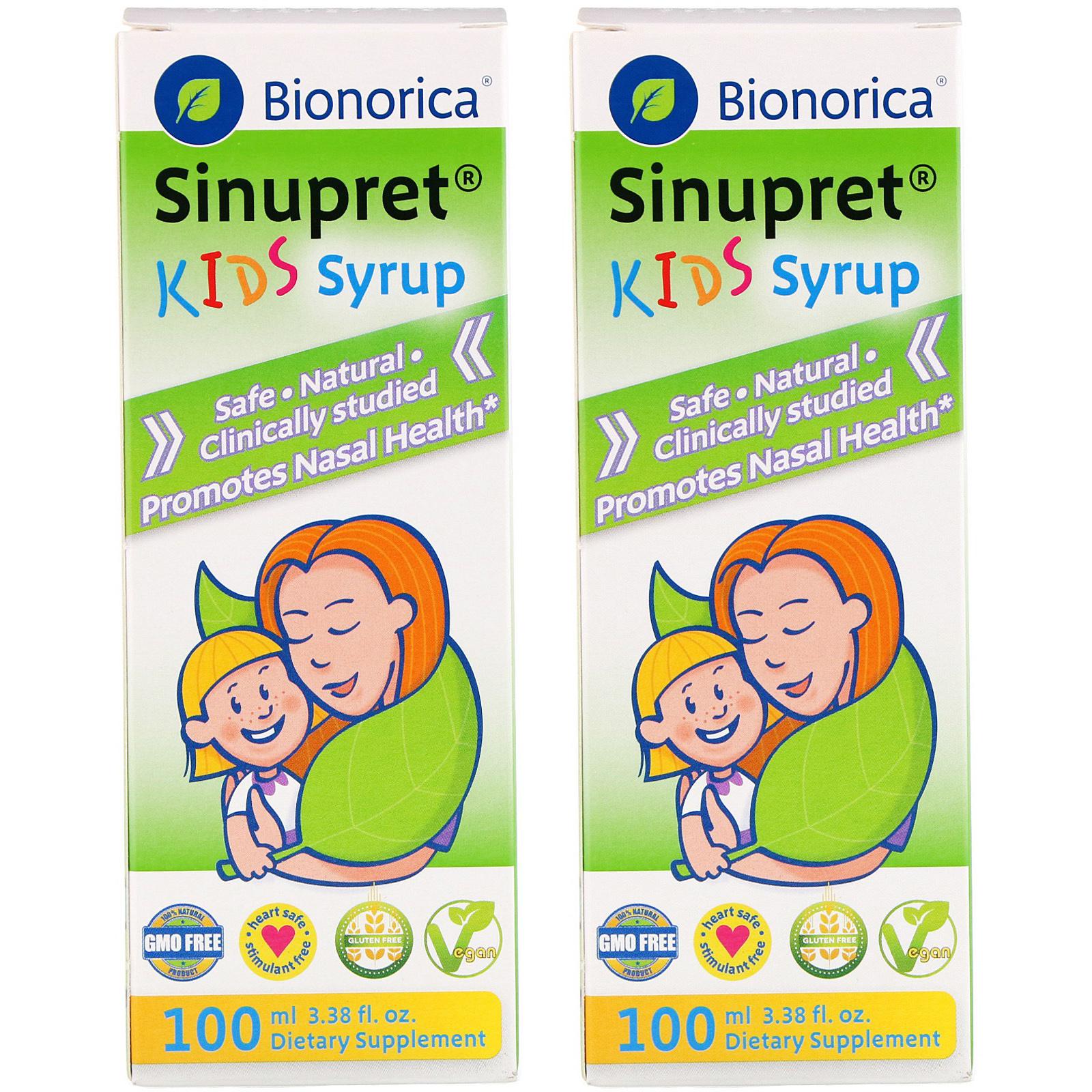 바이오노리카 시누프렛 시럽 어린이 비타민, 100ml, 2개